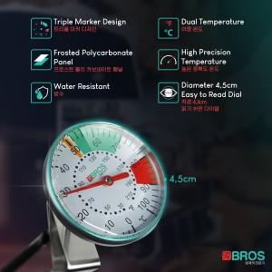 Thermometer Susu Air Coffee Termometer Barista Cafe Bros Professional