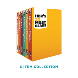 HBR's 10 Must Reads Series Boxed Set: 6 Books (eBook)