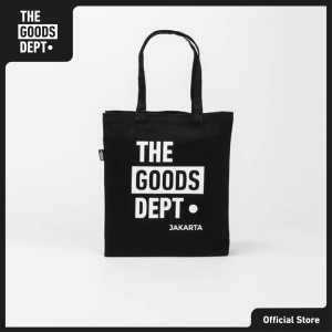 The Goods Dept Tote Bag Unisex TOTE BAG TGD Jakarta Hitam