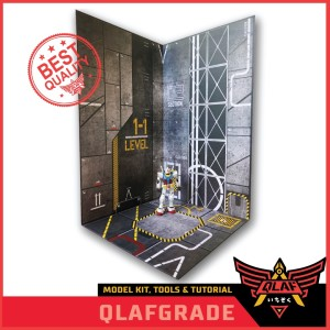 HANGAR MECHA DISPLAY gundam gunpla background hangar mechanic