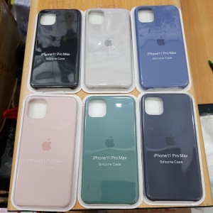 Silicone Silikon Case Oem Apple Iphone 11 Pro Max 6.5 Inch Casing