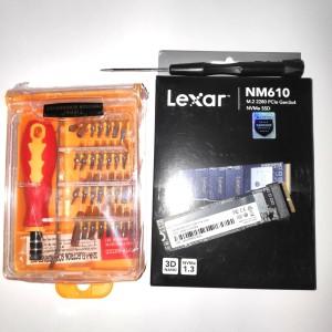 Paket SSD Macbook Air & Macbook Pro 1Tb Adapter Sintech + SSD LEXAR