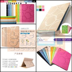 iPad Mini 4 Luxury KAKUSIGA Circle Smart Flip Cover / Case (Hard)