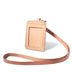VOYEJ ID Card Holder III - Name ID Tag Kulit Asli Unisex