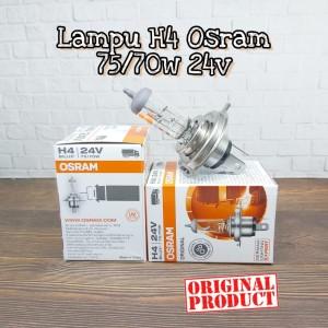 Lampu Halogen Osram H4 75/70W 24V Original High Quality Universal