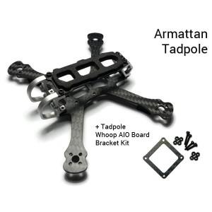 Armattan Tadpole Frame Quadcopter + Whoop AIO Board Bracket