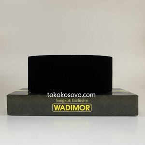 Peci Songkok Kopiah Wadimor AC Hitam Polos Termurah
