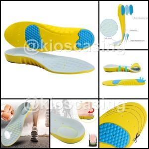 BG Insole Alas Sepatu Busa Silikon Gel Insoles Silicone Sol Foam Shoes