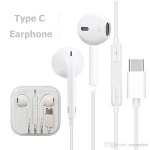 [GARANSI]TYPE C EARPHONE MODEL IPHONE HEADSET FOR ALL TIPE HP TIPE C
