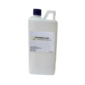 1000 ml - minyak sereh wangi / citronella oil (kemasan derigen)