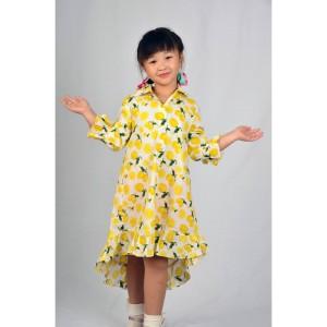 Dress anak motif lemon