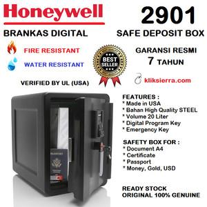 Brankas HONEYWELL 2901 Brangkas Baja Tahan Api & Air - Kunci Digital