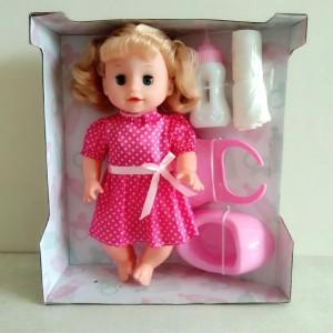 Mainan Boneka Lovely Bisa Pipis dan Bisa Bersuara