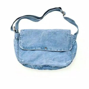 MONOLOG Denim Sling Messenger Bag Tas Selempang Postman Unisex