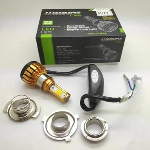 LAMPU LED MOTOR LUMINOS Z2 3 SISI 2 WARNA WHITE YELLOW