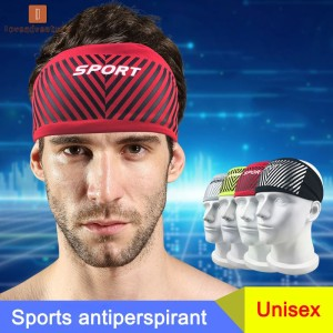 Headband Absorbent Head Sweat Band Sweatband Breathable For Sport