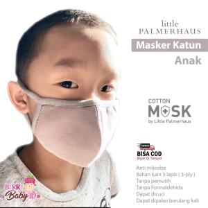 Little Palmerhaus Cotton Mask Masker Kain Katun 3 Ply Anak