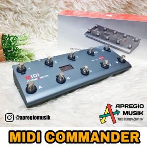 Midi Commander TS tone shifter by melo audio foot controller