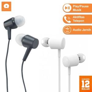 Wuw R42 Music Earphones - Headset with Mic - Putih