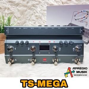 TS Mega soundcard with midi foot controller Tone Shifter
