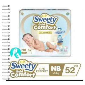 Sweety Gold Comfort NB-52 Popok Celana