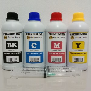 Tinta isi ulang ( Refill ) 500ml untuk printer CANON