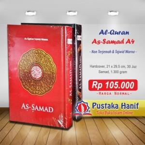 Al Quran As Samad A4 - Mushaf Tajwid Non Terjemah