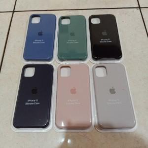 Silicone Silikon Case Oem Apple Iphone 11 6.1 Inch Casing