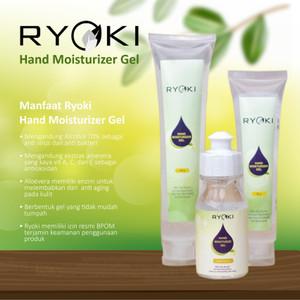 Hand sanitizer Moisturizer Gel Ryoki with 70 % Alcohol and Aloe vera