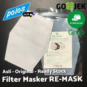 Isi Ulang Filter Masker RE-MASK Asli Setara Masker N95 - Ukuran JUMBO