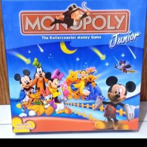 MAINAN MONOPOLY junior mickey n friends