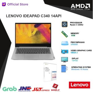 Lenovo IP C340 14API CLID | Ryzen 3 3200U 8GB 256ssd Vega 3 W10 14FHD