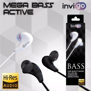 [GARANSI]INVIGO HEADSET SUPER BASS JACK 3.5MM ALL TIPE HP