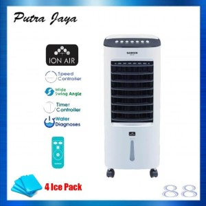 Air Cooler Sanken SAC-38 Canggih Fitur Humidifier & Ion Air