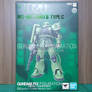 Gundam Fix Figuration Metal Composite MS-06C Zaku II GFFMC