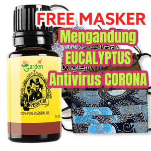 FREE Masker 4 Pencuri Essential Oil Our Garden 15ml Aromatherapy
