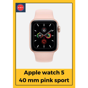 Apple Watch Series 5 44mm Aluminium Space Grey with Black Sport Band