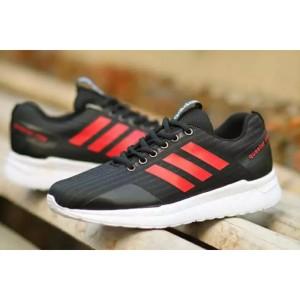 Sepatu Sport Pria Adidas Questar Ride Sneakers Running Casual Hitam