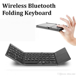 Keyboard Wireless Bluetooth Lipat with Trackpad High Quality