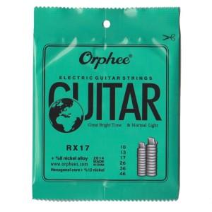 1 Set Senar Gitar Listrik/ Electric Guitar Orphee RX17 , Size 10 Ori