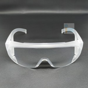 Safety glasses over spectacles / Kacamata safety minus