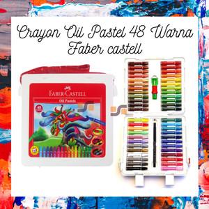 Crayon Oil Pastel 48 Warna Faber castell