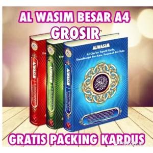 Alquran Alwasim Besar A4, Al-Quran Tajwid Arab-Latin-Terjemah Murah