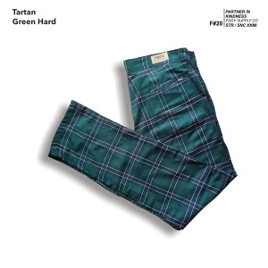 fruddy duddy - fddy - tartan - pants - grean hard