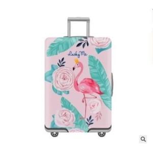 sarung koper / Luggage cover elastis full print edition SIZE X LARGE