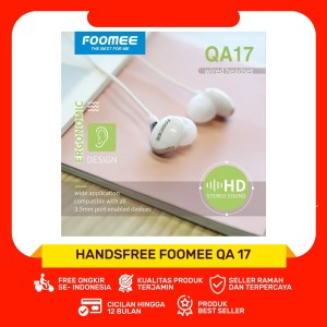 Foomee QA17 Wired Headset
