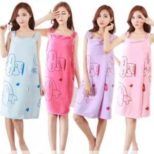 Baju handuk motif multifungsi