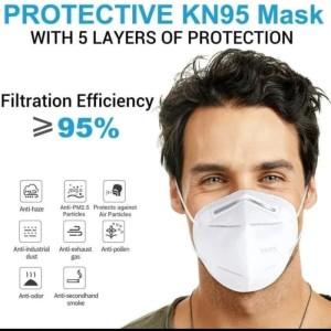 Masker Anti Virus Anti Bakteri / Masker KN95 5 Lapis