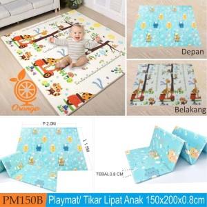 Premium Baby Playmat Karpet Matras Main Bayi Aman Bolak Balik