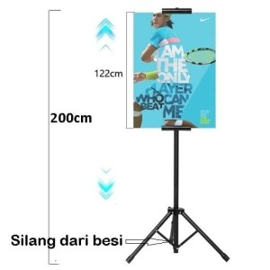 Tripod Stand Display Banner Poster